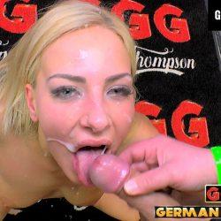 Nathaly und das Sperma - ggg john thompson video