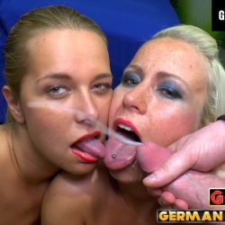 Licky Lex und Nicky Dream im GGG Spermahimmel - ggg john thompson video