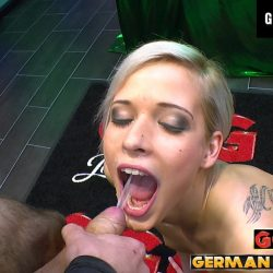 Ria Sunn- Blond und spermaverliebt - ggg john thompson video