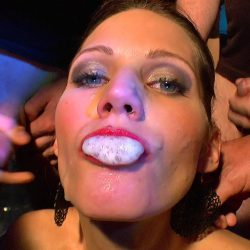 Viktoria swallow and sperm queen - ggg john thompson video